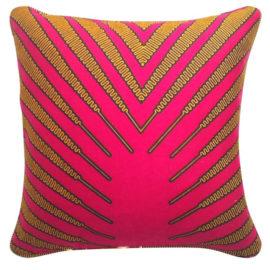 La-Petite-Congolaise-Margot-AWVB07-Carmine-Auburn-Yellow-Wax-print-pillow-01 Lo-res