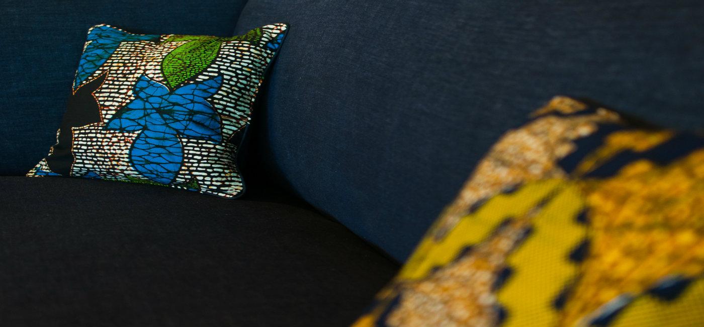 La-Petite-Congolaise-Claude-Fernande-African-print-and-denim-pillows-001